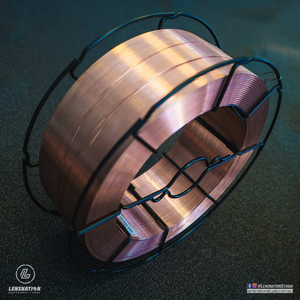 Product photography Alphaweld Welding Wire Perth Canning vale