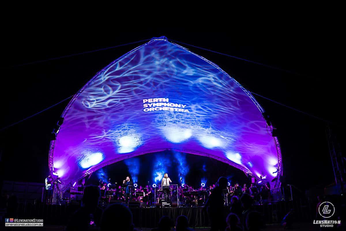 Perth Symphony Orchestra Performance Tourism WA LensNation Studio