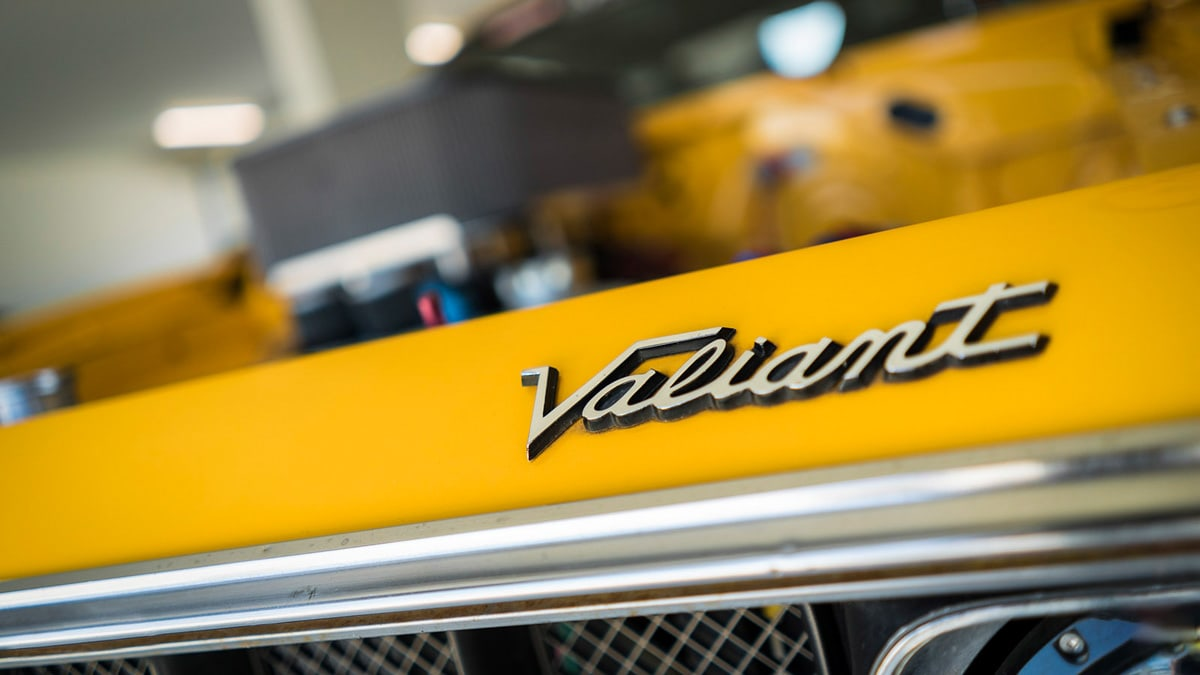 Car Photography Chrysler VJ Valiant E55 Charger