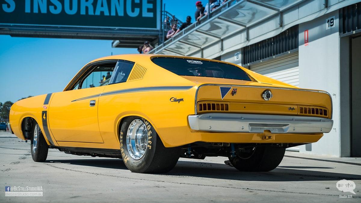 Car Photoshoot Chrysler VJ Valiant E55 Charger