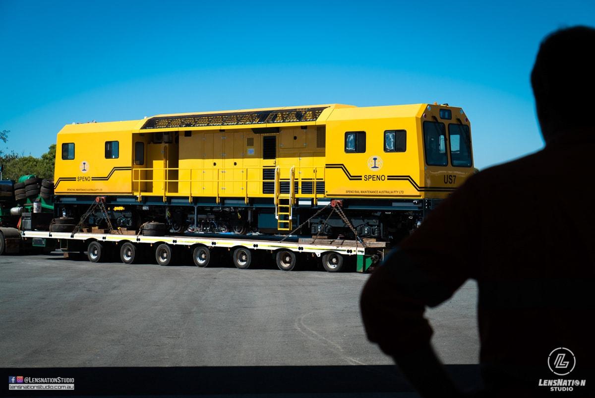 Lensnation Perth Photography Speno Rail Machine