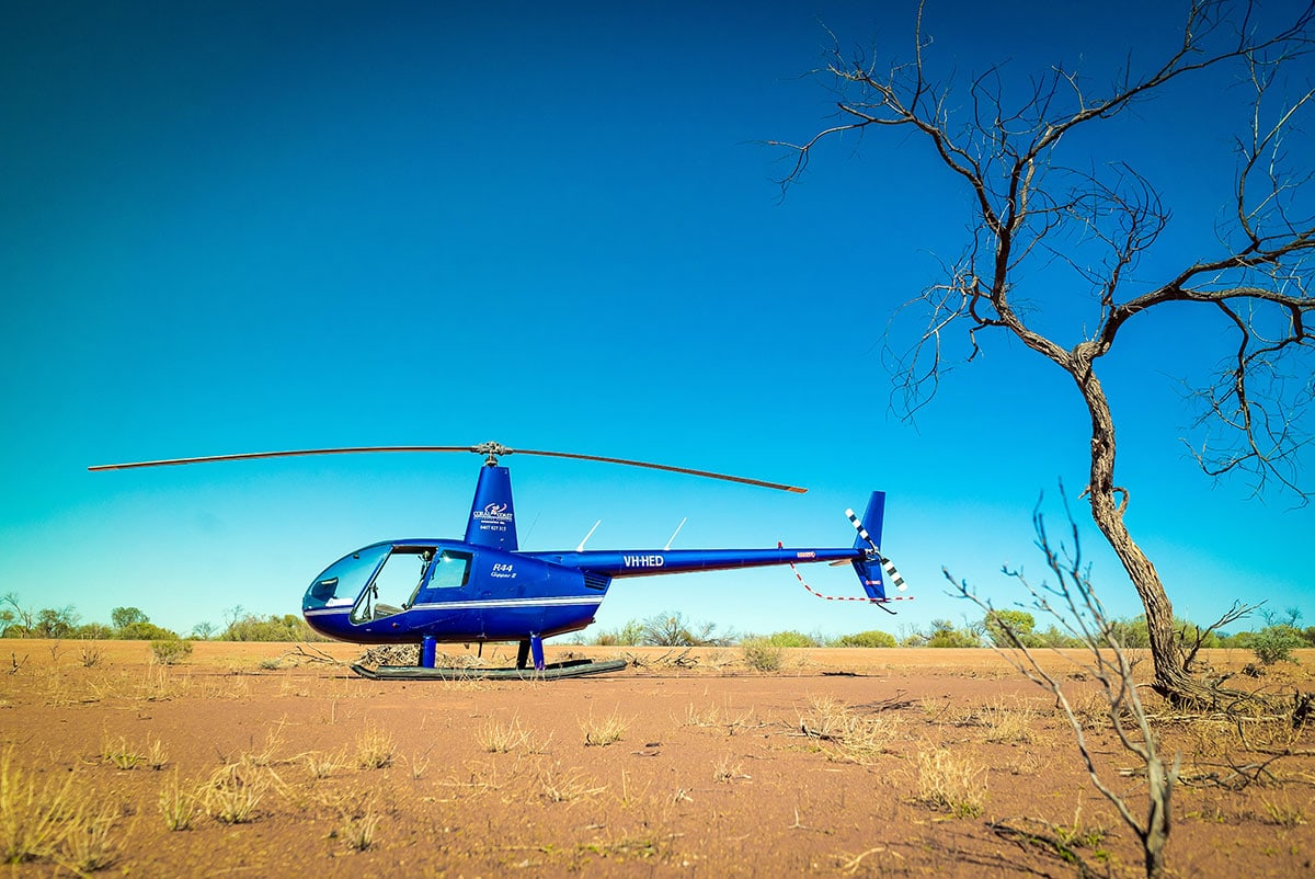 Business Photography for Coral Coast Helicopter LensNation Perth