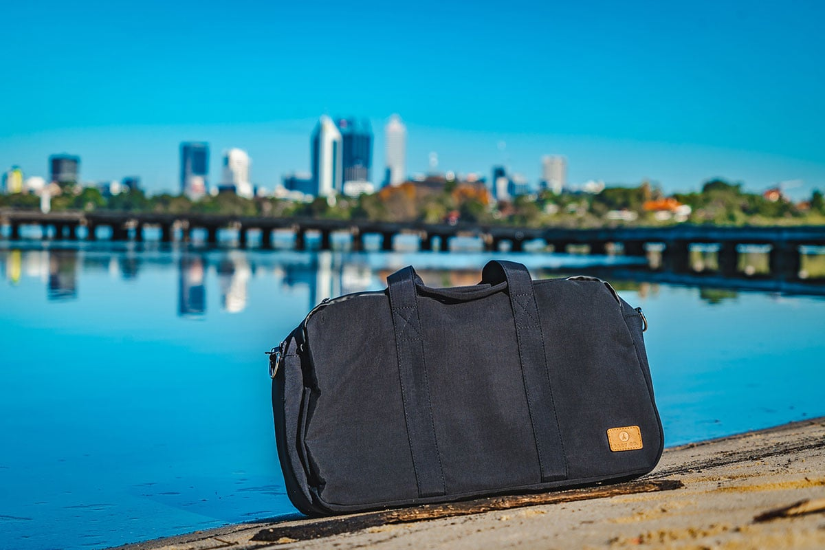 Product Photography Instagram by Lensnation Studio Perth for Pact co Travel Bags