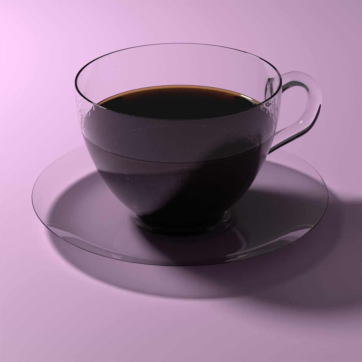 Blender Andrew Price Coffee Cup 3D