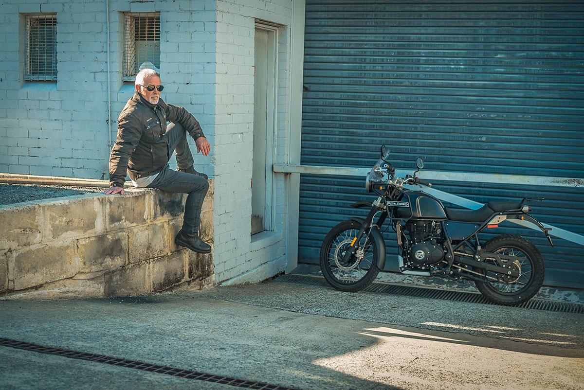 Royal Enfield Himalayan at JCS Motorcycles