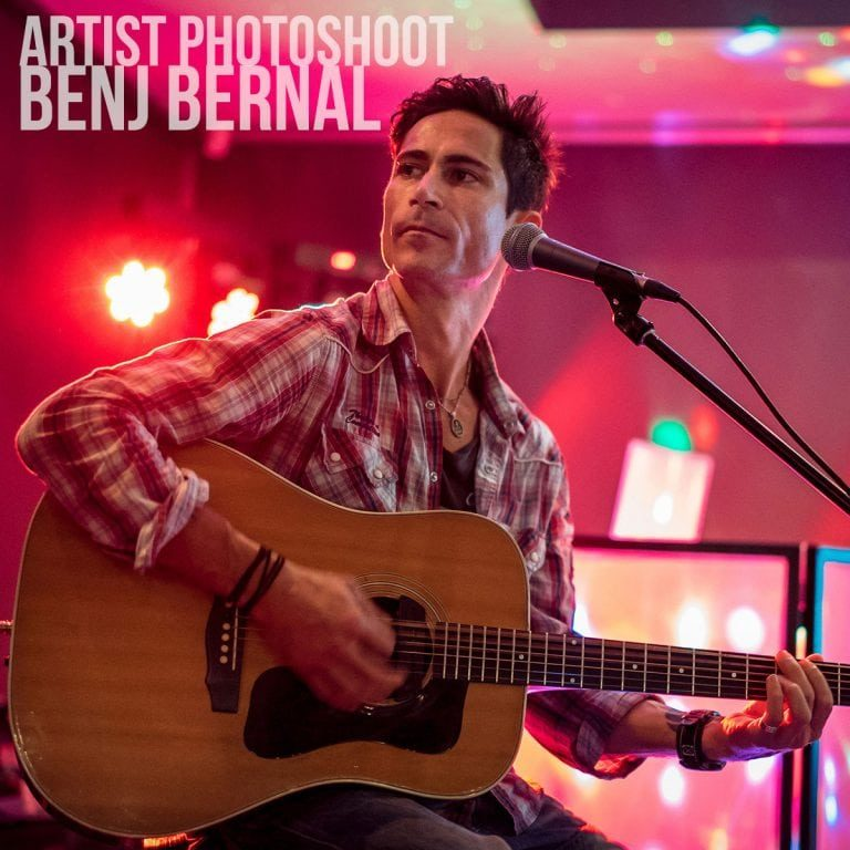 Artist Photoshoot Benj Bernal