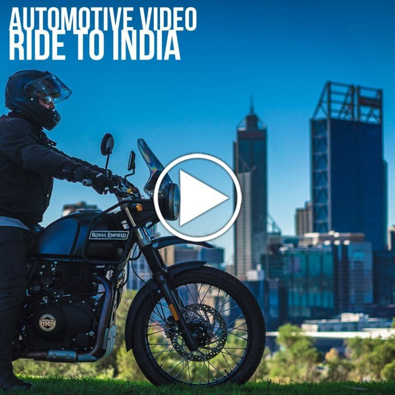 John Nye India 4 corners Record attempt Royal Enfield Himalayan Perth Australia