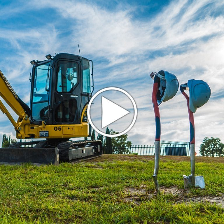 Perth School ground breaking video