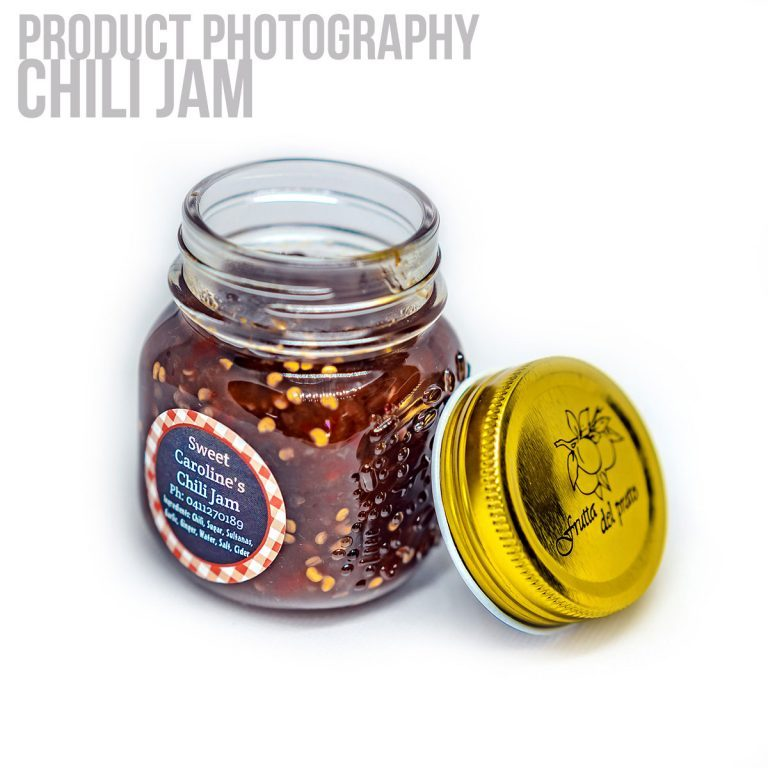 Product Photography Perth Homemade Jam